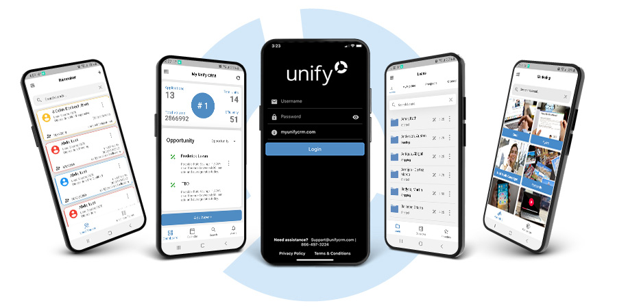 Unify mobile mortgage software