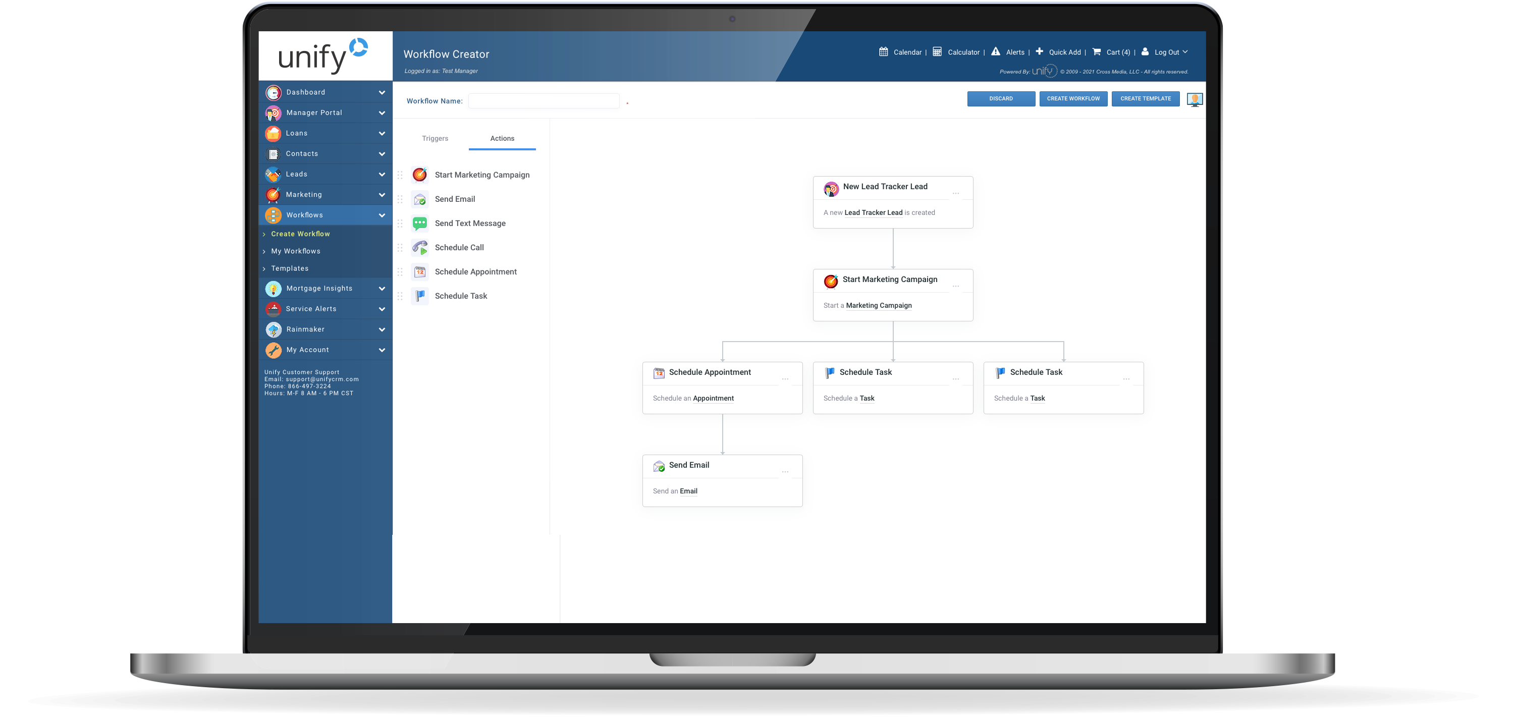 Unify mortgage automated workflows